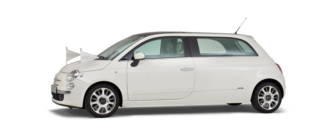 Correct Monnereau kinderrouwauto Fiat500