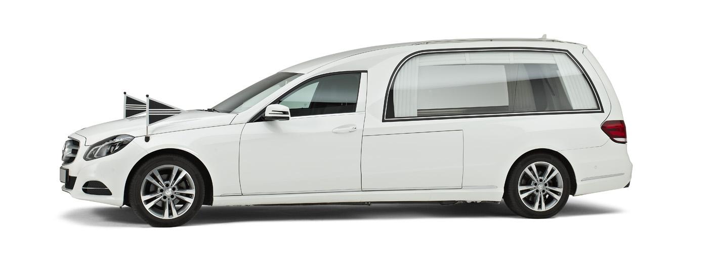 Correct Monnereau witte rouwauto W212_LB